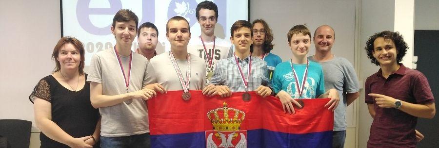 Представници Србије на јуниорској информатичкој олимпијади освојили четири медаље