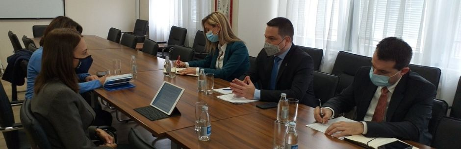 Ministar Ružić sa direktorkom UNICEF-a o nastavku saradnje