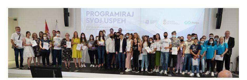 Додељене награде победницима конкурса Програмирај свој успех